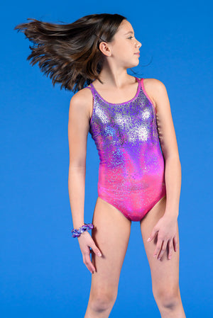 Infinite Shine Amethyst Leotard