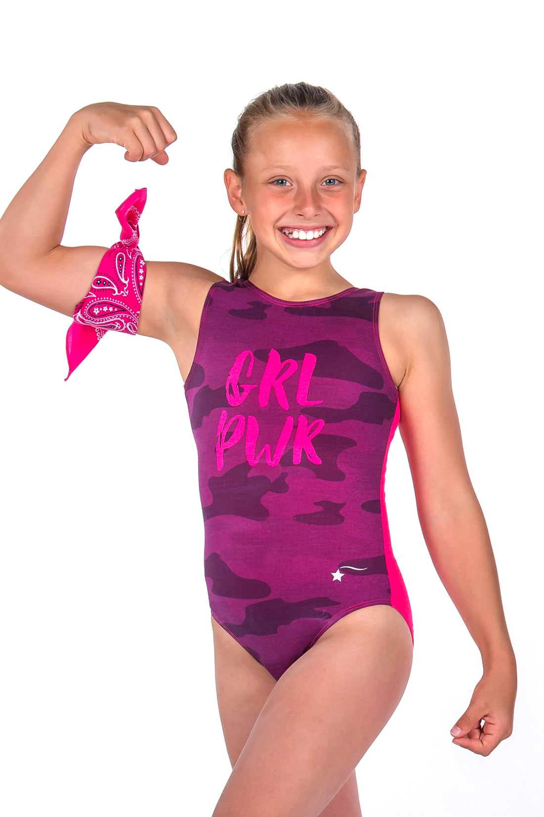 Berry GRL PWR Leotard