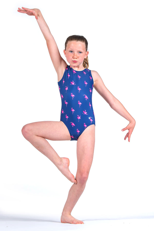 Flippin' Flamingos Leotard