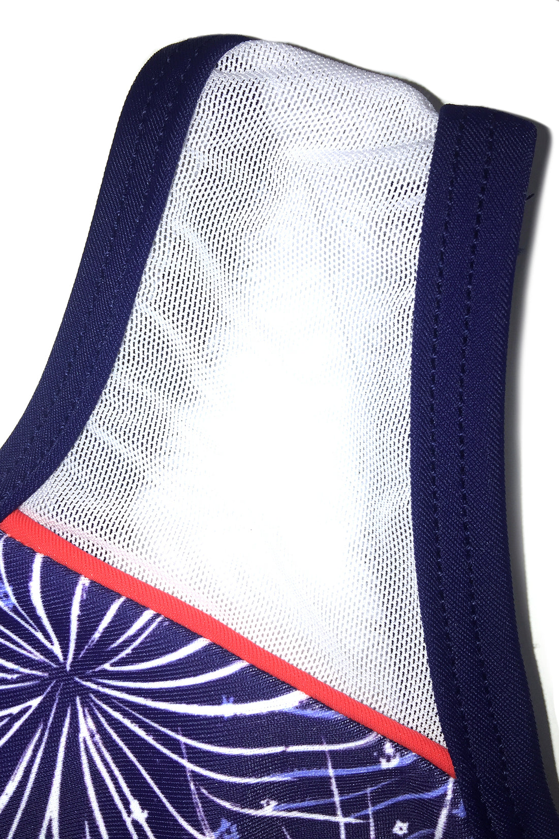 Hot Fireworks Drop Shoulder Tank