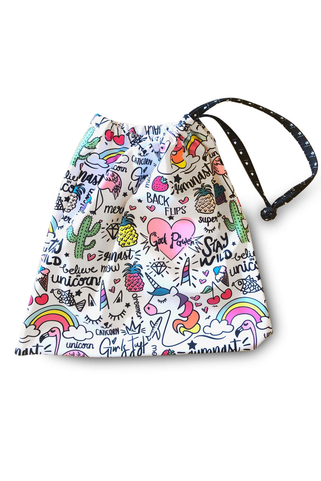 Unicorn Doodles Grip Bag