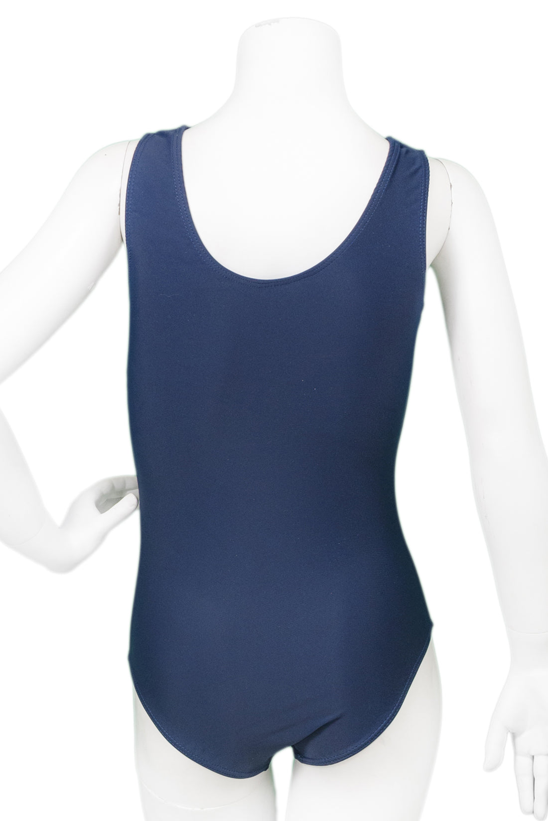 Navy NYC Skyline Tank Leotard