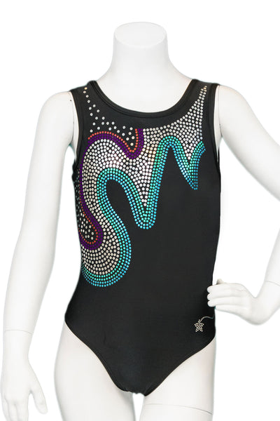 Black Brilliance Leotard