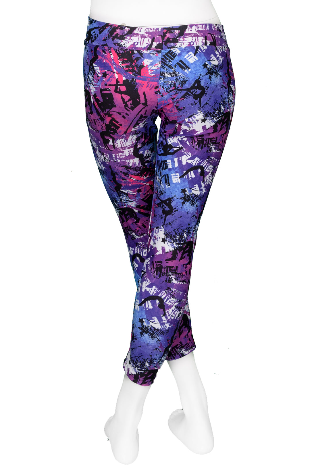 Abstract Gymnast Leggings