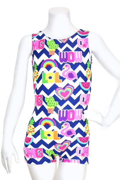 Chevron Summer Unitard