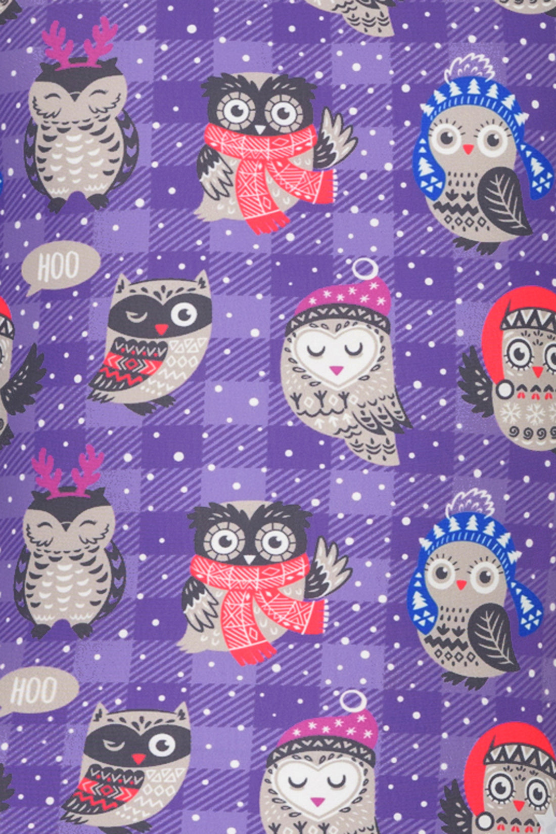 Cozy Owls Leotard