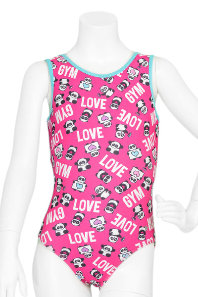 Panda Love Leotard