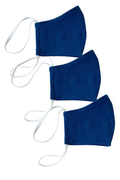 Catalina Blue Face Mask 3-Pack