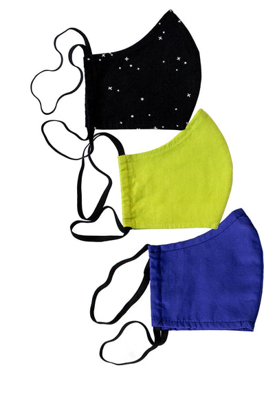 Interstellar Face Mask 3-Pack