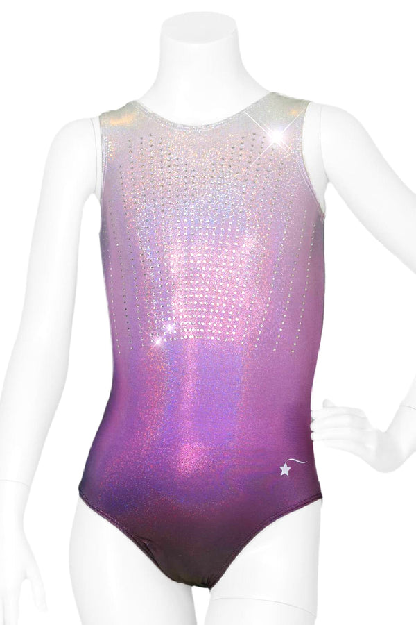 Purple Crystal Glow Leotard