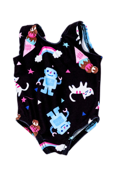 Robot Kitty Doll Size Leotard