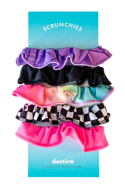 Color Crush Scrunchie 5 Pack