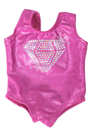 Crystal - Matching Doll Size Leotard