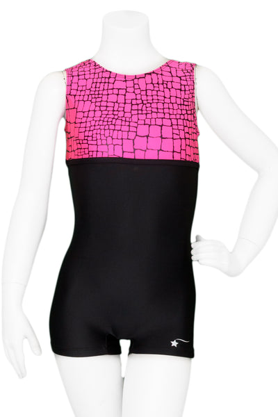 Pink Rockwall Unitard
