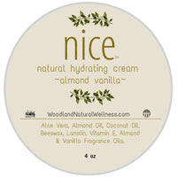 nice - All Natural Hydrating Cream - Almond Vanilla