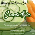 Cucumber Melon All Natural Goat Milk Soap