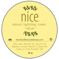 nice - All Natural Hydrating Cream - Citrus