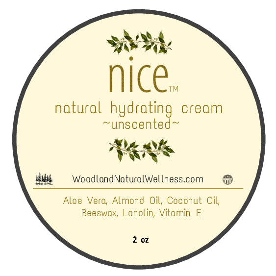 nice - All Natural Hydrating Cream - unscented.