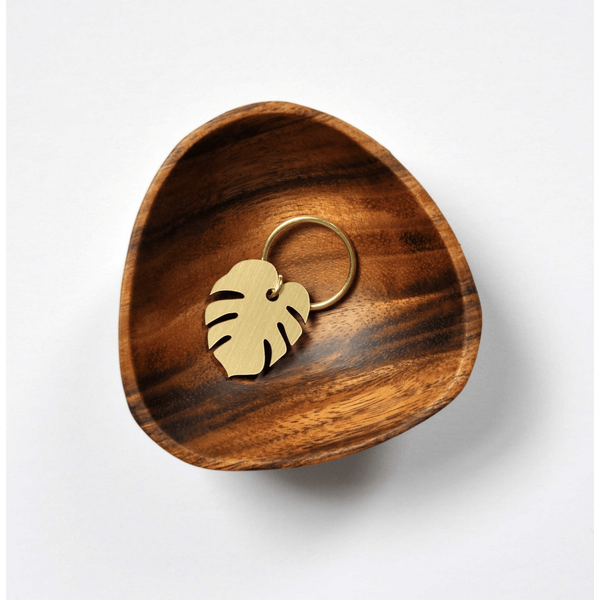 Monstera Leaf Key Tag by Swell Made Co. - Oceanista