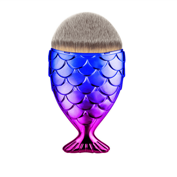 Mermaid Tail Makeup Brush - Oceanista