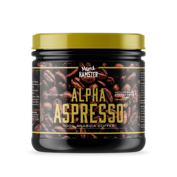 Alpha Training Food & Drink 300g | 25 Servings Alpha Aspresso
