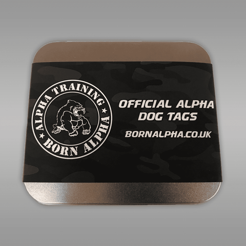 Image of Born Alpha | Alpha Training Accessories Alpha Dog Tags