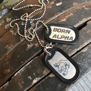 Born Alpha | Alpha Training Accessories Alpha Dog Tags