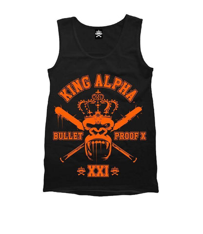 Image of Born Alpha | Alpha Training Clothing S / ORANGE King Alpha Vest