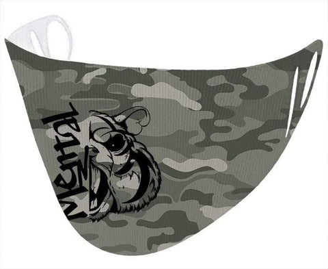 Image of Mental Hamster Accessories Khaki Camo Mental Hamster Face Cloth
