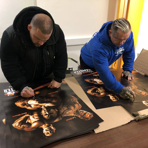 Mental Hamster Accessories Not Signed Limited Edition Poster - Lee Priest, Samir Bannout & Aarron Lambo