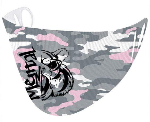 Mental Hamster Accessories Pink Camo Mental Hamster Face Cloth