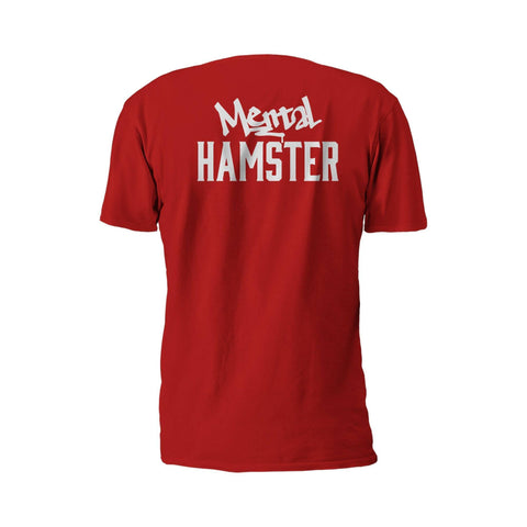 Image of Mental Hamster Clothing Small / Black Mental Hamster Icon Tee