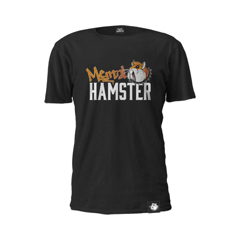 Mental Hamster Clothing Small / Black Mental Hamster Logo Tee
