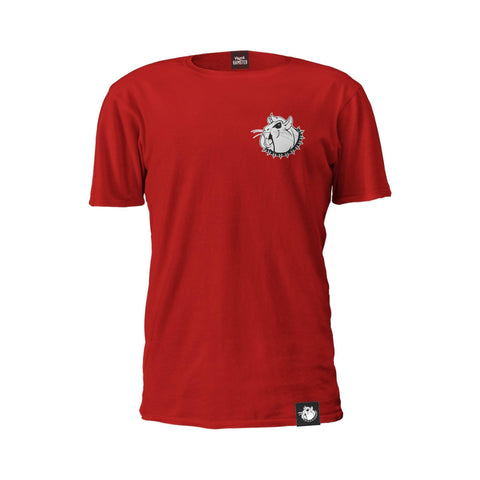 Image of Mental Hamster Clothing Small / Red Mental Hamster Icon Tee