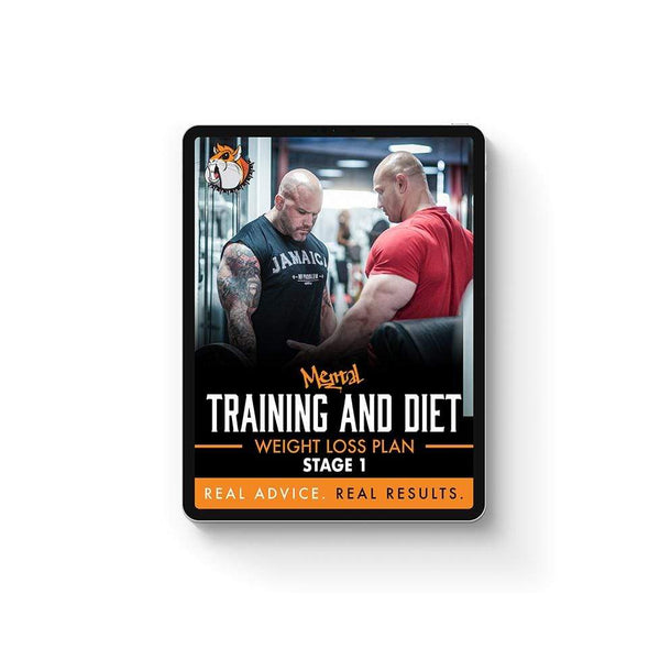 Mental Hamster Diet/Training Plans Weight Loss Transformation Plan - Stage 1 (Introductory)