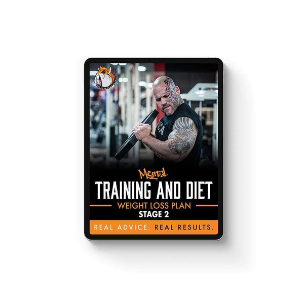 Mental Hamster Diet/Training Plans Weight Loss Trasformation Plan - Stage 2
