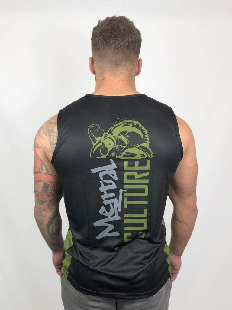mentalculture Gym Wear Mental Culture Training Vest