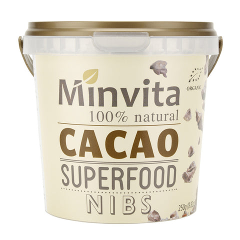 Cacao Superfood Nibs - Minvita