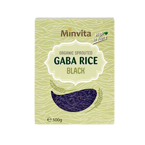 Organic Sprouted GABA Rice Black