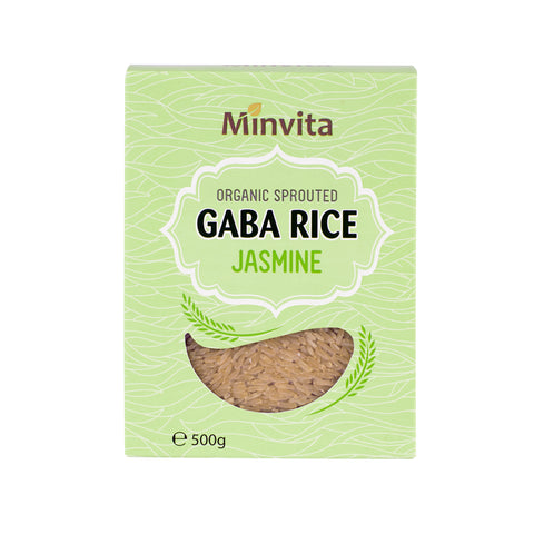 Organic Sprouted GABA Rice Jasmine