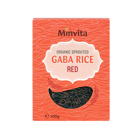 Organic Sprouted GABA Rice Red
