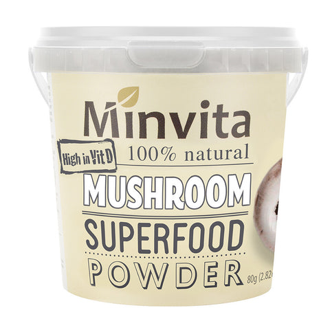 Mushroom Superfood Powder - Minvita