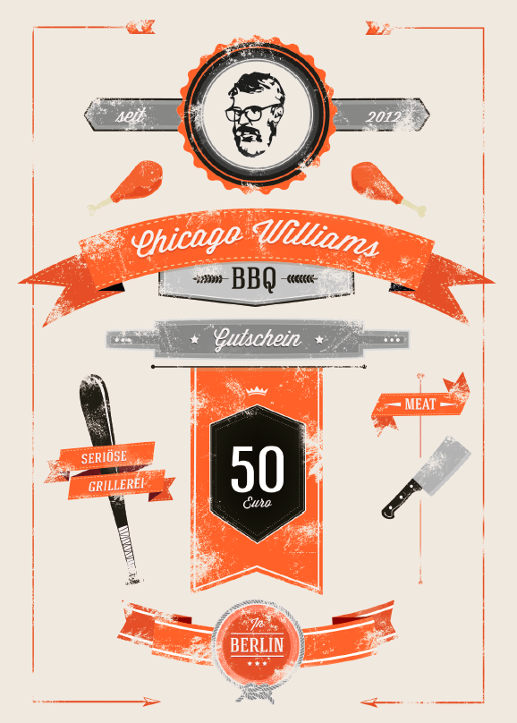 Chicago Williams Voucher / Gutschein