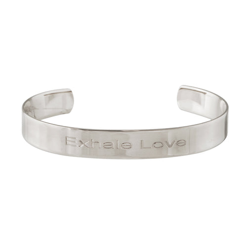 Exhale Love Shiny Cuff