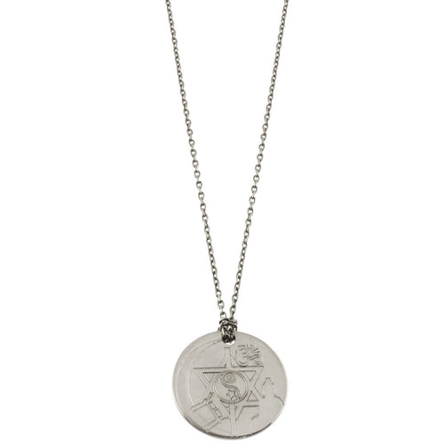 HARMONY DISC NECKLACE