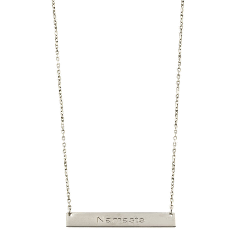 Namaste Bar Necklace