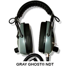DetectorPro Gray Ghost NDT Headphones
