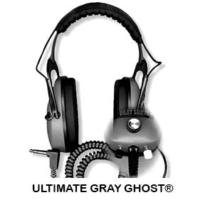 DetectorPro Gray Ghost Ultimate Headphones