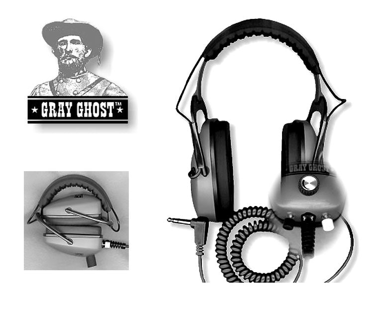 Ultimate Gray Ghost® Platinum headphones