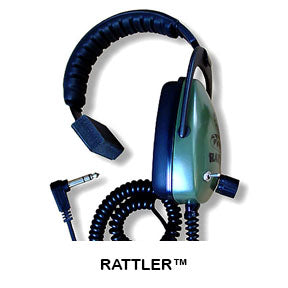 DetectorPro Gray Ghost Rattler Headphones
